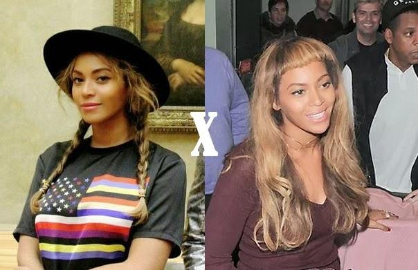 Beyoncé está de visual novo!