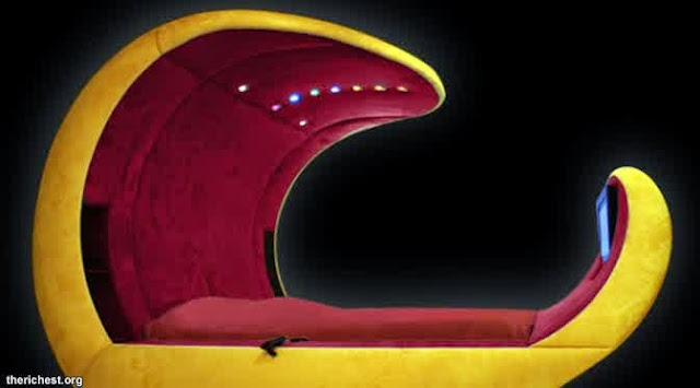 desain tempat tidur paling mewah sedunia