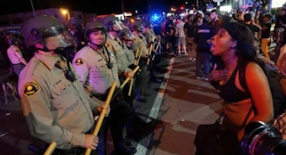 Protests Peaceful, But Tensions High in El Cajon After Police Shooting