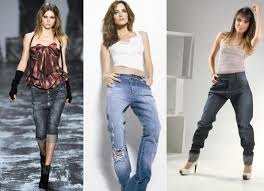 calça jeans baggy  feminina