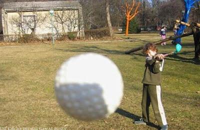 Lustige Kinder Bilder Golfen