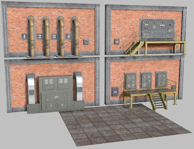Industrial Interior Modular Kit 1