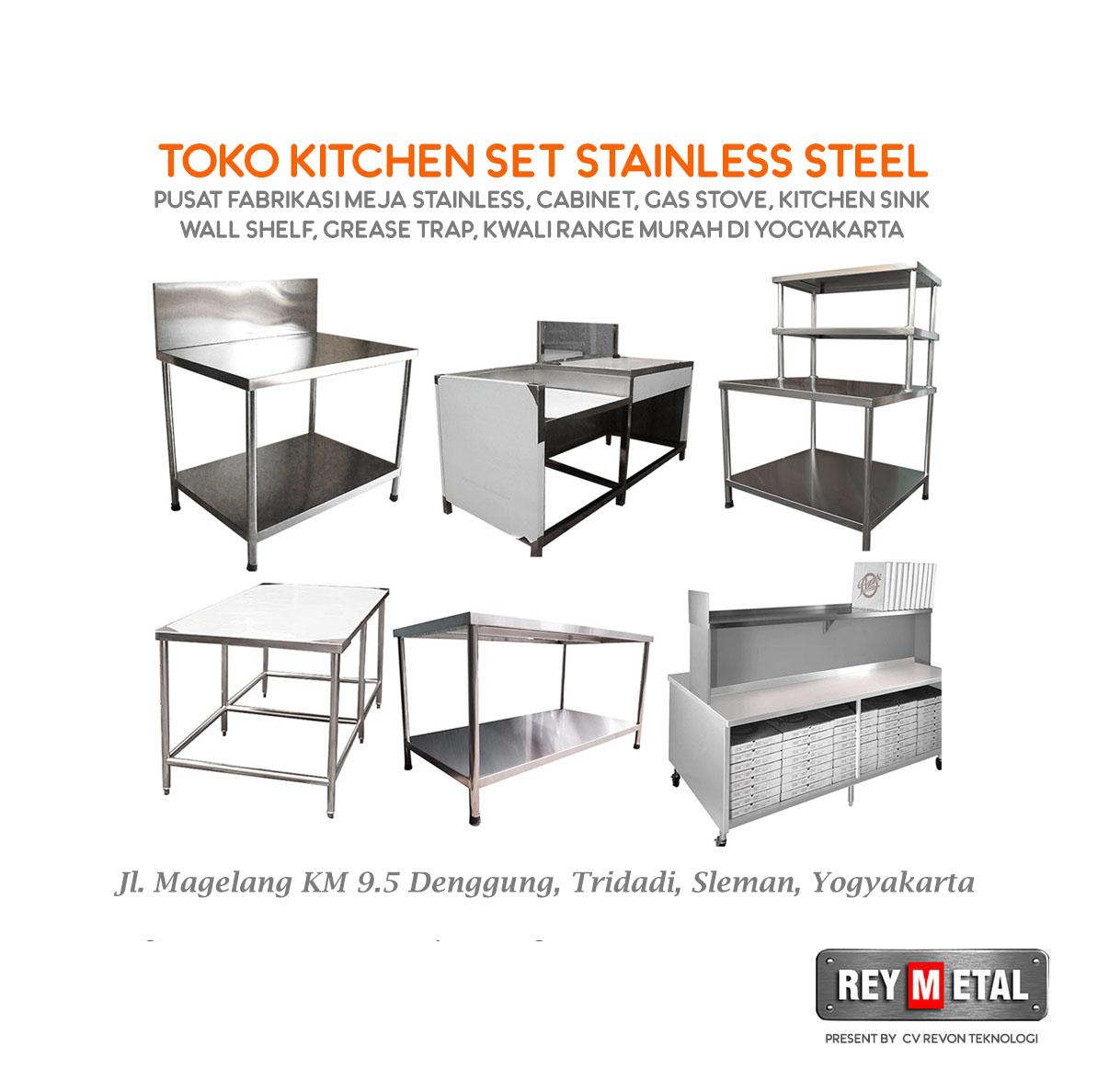 Toko Meja Stainless Steel di Yogyakarta
