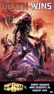 Cómic: Mostrada la primera imagen del cómic 'Infinity Wars'