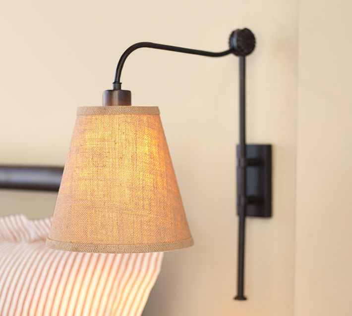 Pottery Barn Wall Lamps: Simple Interior Design 2014