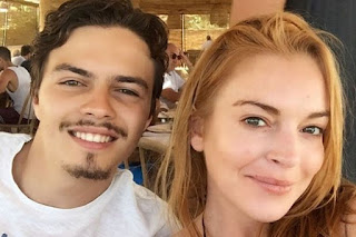 Lindsay Lohan fights with Russian lover Egor Tarabasov during Spain holiday