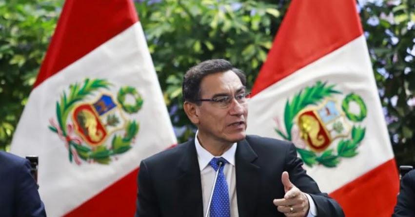 Derecho al voto de los peruanos en el extranjero se respeta, sostuvo el Presidente Martín Vizcarra