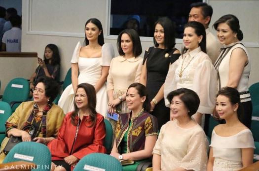 Jinkee Pacquiao's Outfit For The SONA 2017 Gained Different Reactions From The Netizens! Here's Why!