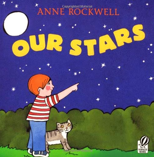 Our Stars, part of children's book review list about outer space