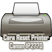 Reset Printer Canon