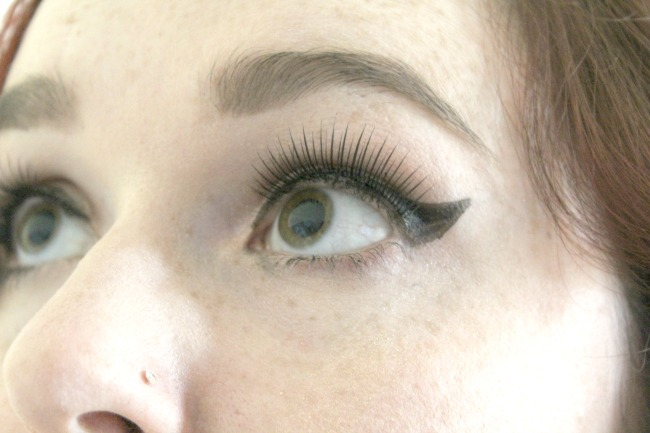 Review of Threads lashes - Be-Bop lashes and Vava Voom lashes from Angel Beauty. Nourish ME: www.nourishmeblog.co.uk