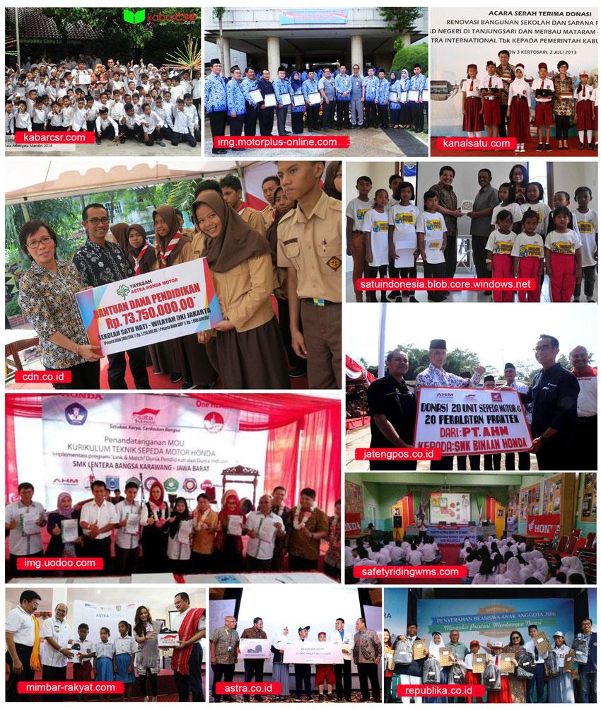Dokumentasi CSR Astra Bidang Pendidikan