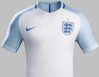 Jersey Home Inggris Euro 2016