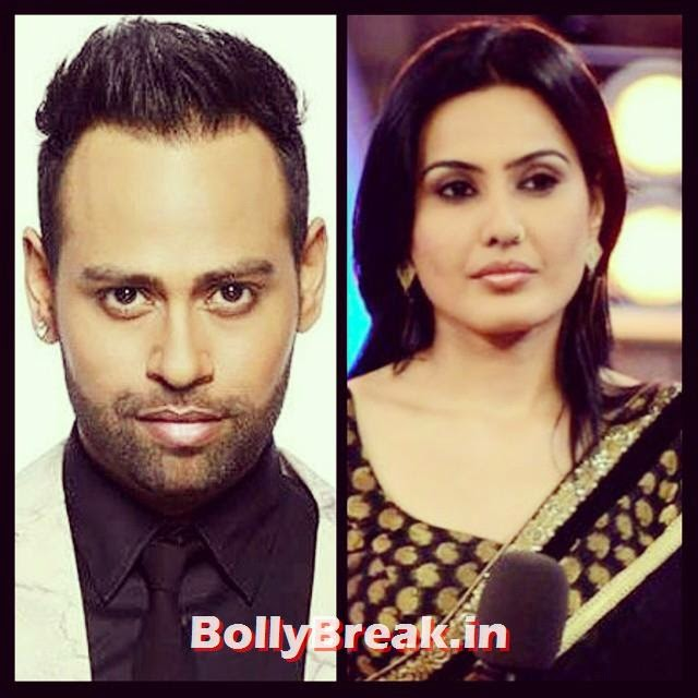 according to some rumors, kamya and andy from bigg boss season 7 will make an appearance and have a chat with the contestants via the tv. they might point finger and or give them some helpful tips to survive longer in the house. i doubt if these two could put any sense in the contestants especially after how much salman had said. if they couldnt understand mr. khan's point of view, which after seeing all your comments i can say is the viewers point of also, i don't think these two would have any impact on the housemates behavior. do you think the contestants will up their game after tonight? we will just have to wait and watch.   bigg boss , Gossi , bollywood, d Ham a Al, masala, hot, Salman, Colo r s tv, reality, tv, drama, kamya punjabi, vj andy,, Kamya punjabi in Bigg Boss 8 - Hot Black Dress