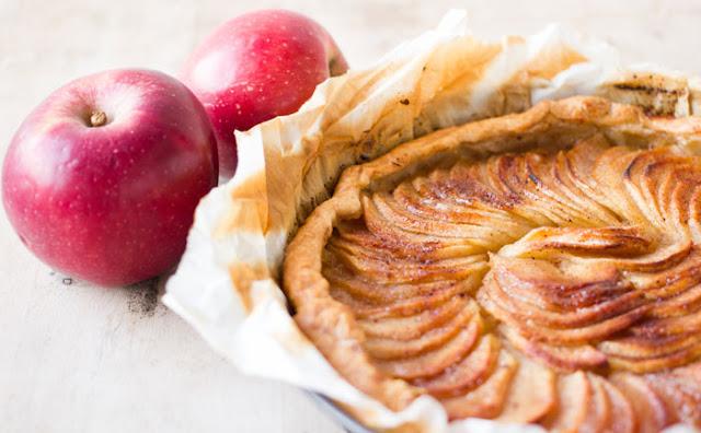 Tarta de manzana sencilla y deliciosa