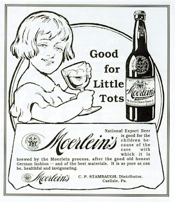 Moerlein's -- Good for Little Tots