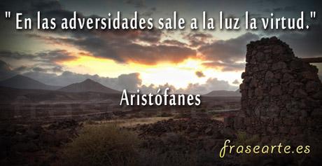 Frases motivadoras de Aristófanes