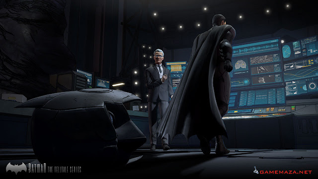 Batman The Telltale Series Episode 1 Gameplay Screenshot 4