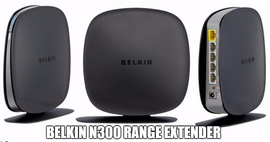 how to set up belkin n300 wifi range extender
