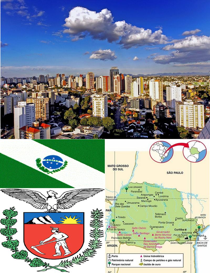 PARANÁ, ASPECTOS GEOGRÁFICOS E SOCIOECONÔMICOS DO ESTADO DO PARANÁ
