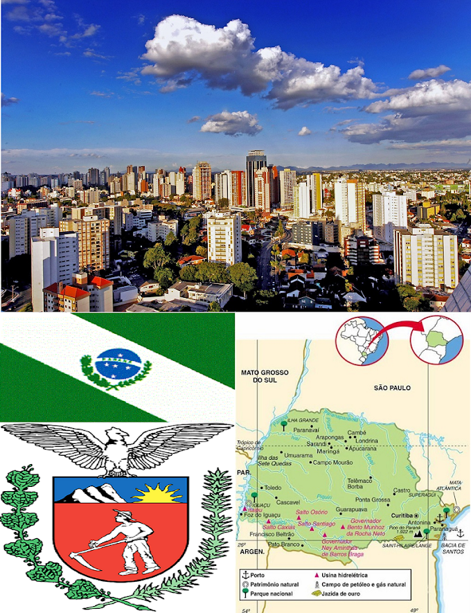 Paraná | Aspectos Geográficos e Socioeconômicos do Estado do Paraná