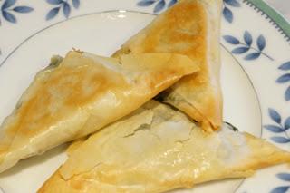 baked spanakopita