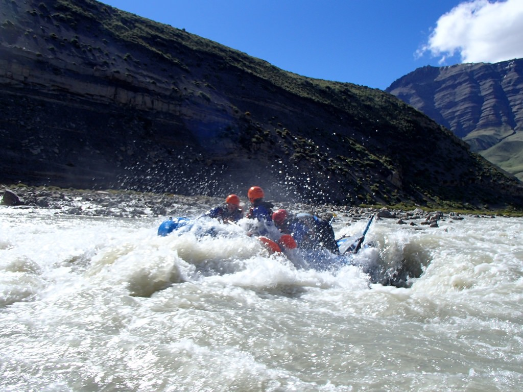 Rafting em El Chaltén, Argentina