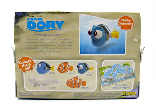 zuru finding dory robo fish baby little dory toy