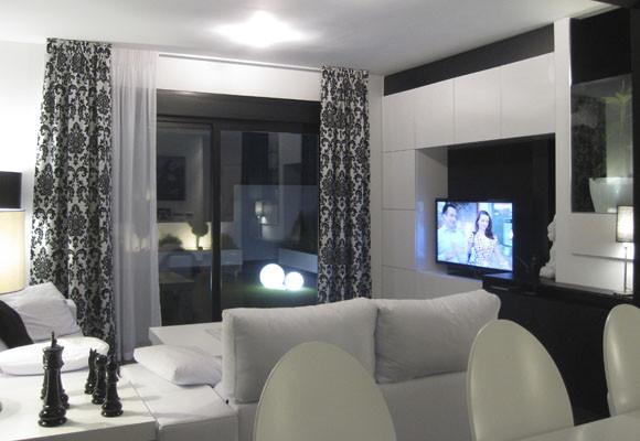 Decoraci n del hogar dise o de interiores c mo decorar - Decoracion blanco y negro ...