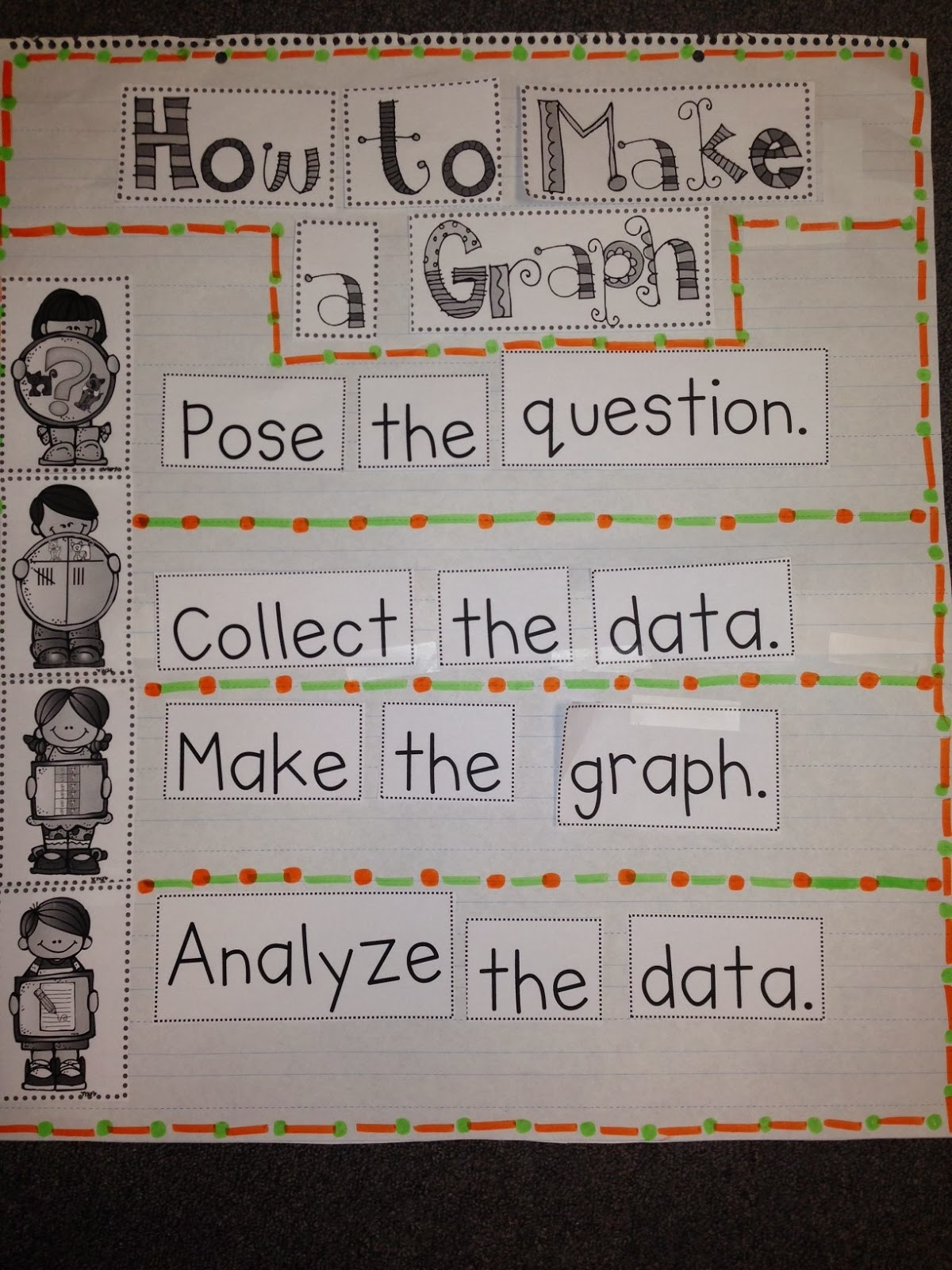 Chalk Talk A Kindergarten Blog Creating Real Object Graphs