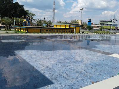 Keindahan Masjid agung As salam Lubuk linggau sumatera selatan