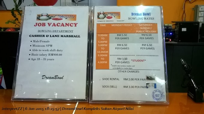 DreamBowl Kompleks Sukan Airport Nilai