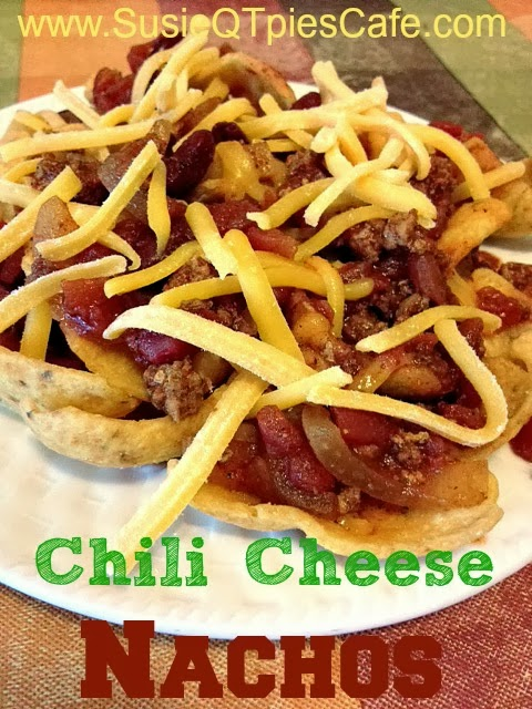 SusieQTpies Cafe: {National Chili Month} Chili Cheese