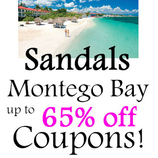 Sandals Montego Bay Jamaica Promo Codes February, March, April, May, June 2021