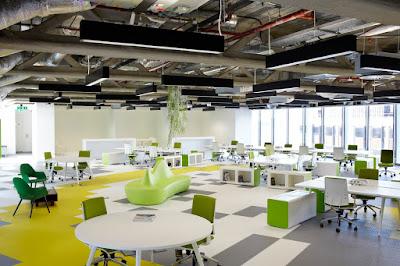 Thiết kế nội thất văn phòng theo phong cách trẻ trung, chuyên nghiệp