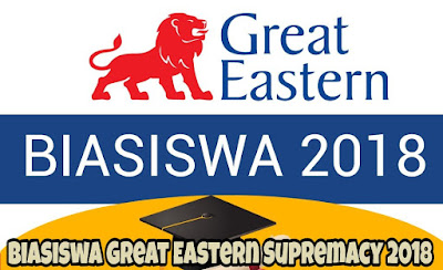 Biasiswa Great Eastern Supremacy 2018