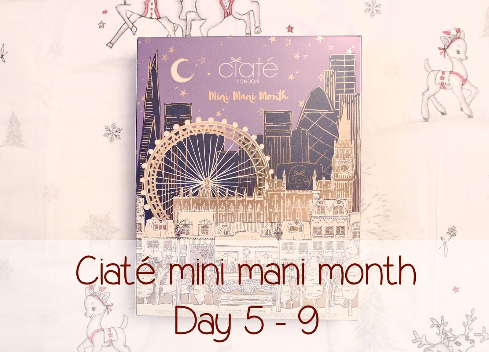 Ciaté mini mani month