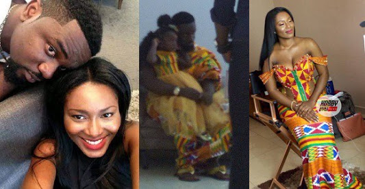 Popular Musician Sarkodie Marries His Girlfriend Of 13 Years