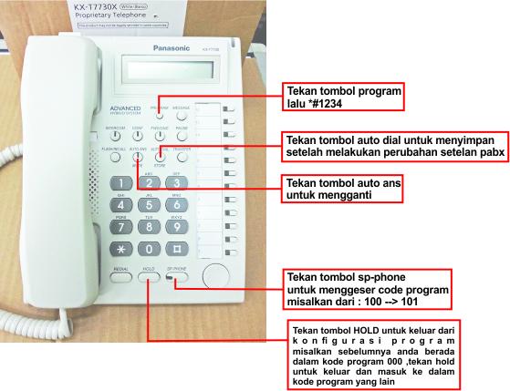 Tutorial cara Instalasi Jaringan Telepon PABX Bagian 5