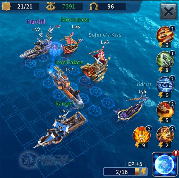Sailcraft Online Lvl 10 Battle Fleet