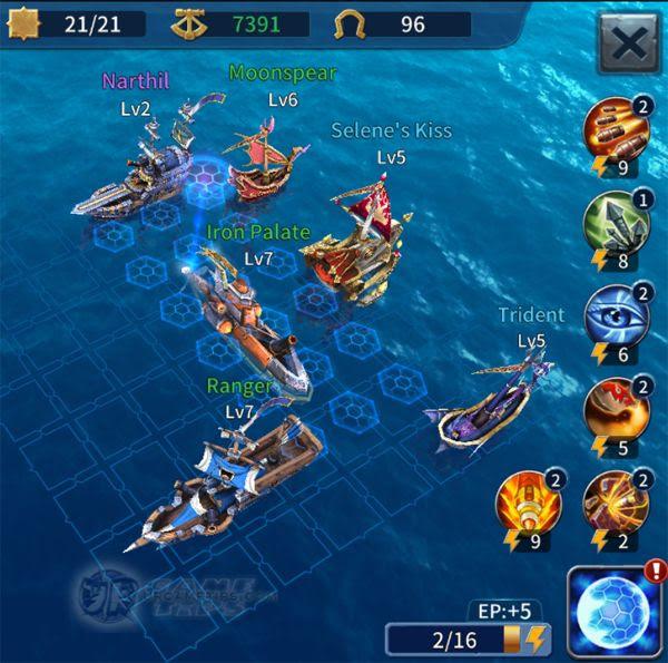 Sailcraft Online Lvl 10 Battle Fleet