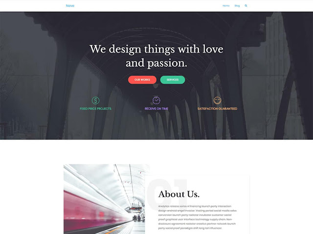 Neve wordpress template free download ads ready and responsive template wp free