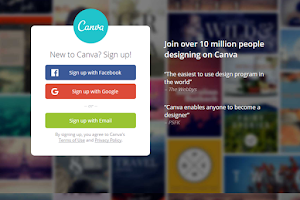 Canva makes design simple for everyone.