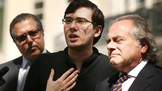 Big 'loss' for Martin Shkreli: Judge's ruling means 'pharma bro' could get decade or more in prison