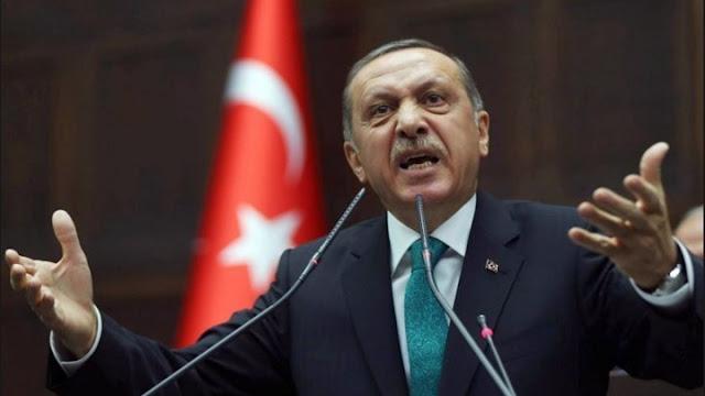 Νέο παραλήρημα Ερντογάν - Εξαπέλυσε επίθεση κατά της Ελλάδας και της Ε.Ε.