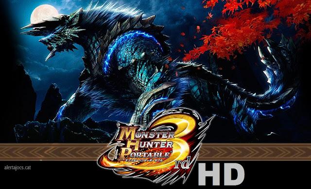 Monster Hunter Portable 3rd HD Ver PPSSPP Game ISO
