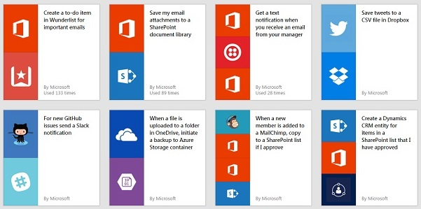 Microsoft Flow : A New Tool to Automate Online Tasks