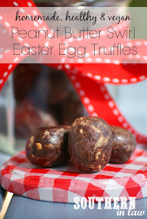 Healthy Homemade Peanut Butter Swirl Easter Eggs Recipe