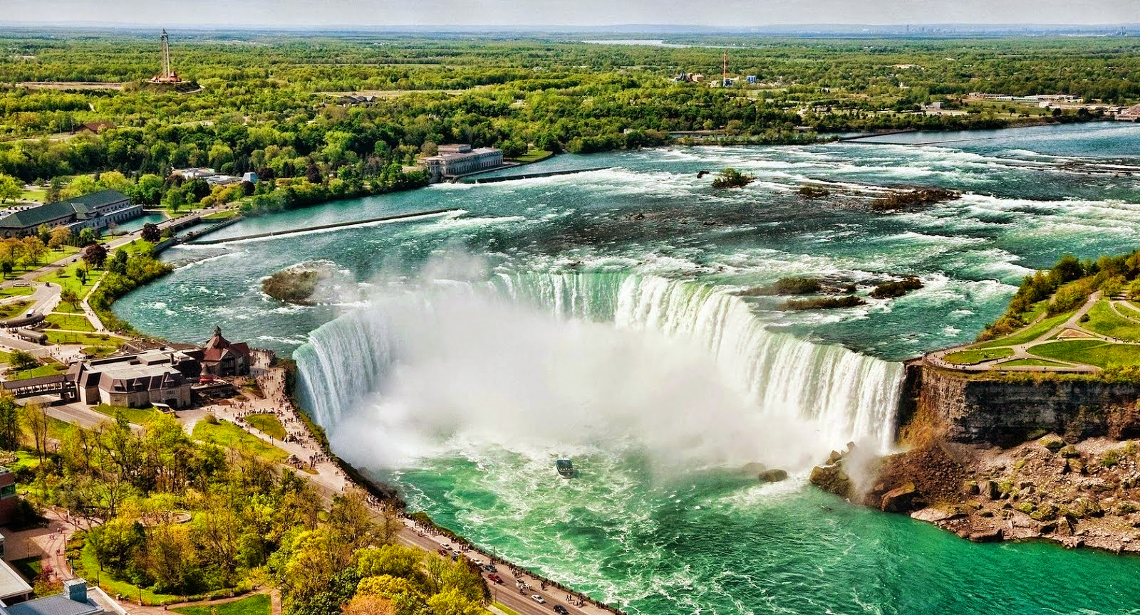 Air Terjun Horseshoe di Niagara air terjun