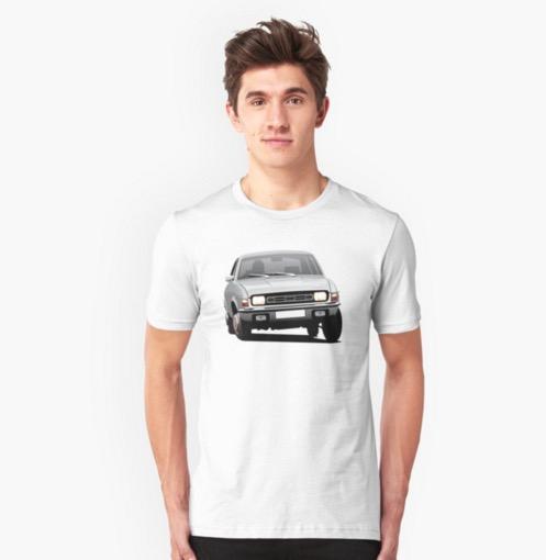 Austin Allegro Reddbubble printed t-shirts